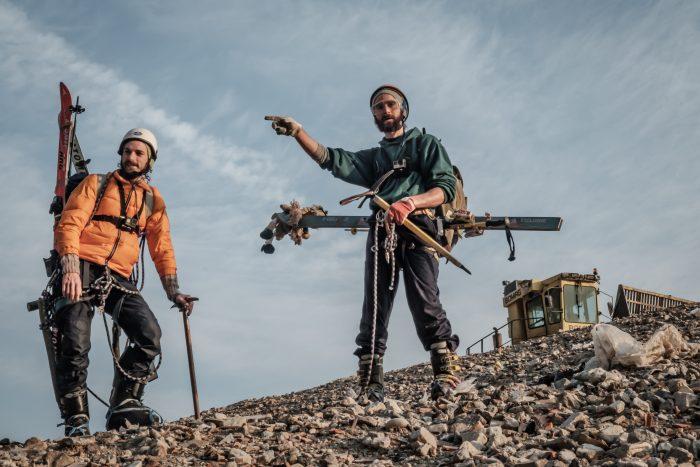 Gli alpinisti di PrimAscesa: Simon e Juan