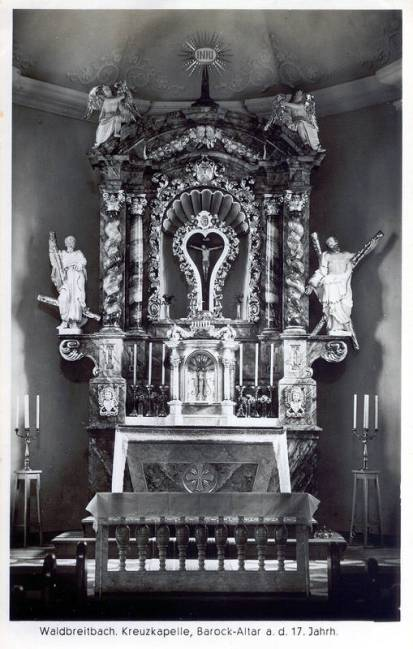 Barockaltar der Kreuzkapelle