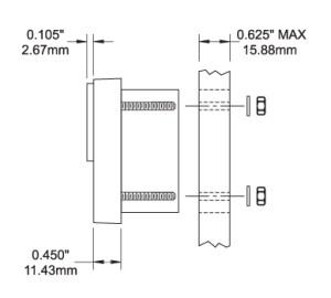 Blue Sea Systems 1832V DC Analog Panel Meter
