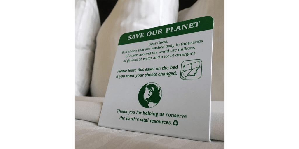 Information card at Aston Waikiki Circle Hotel