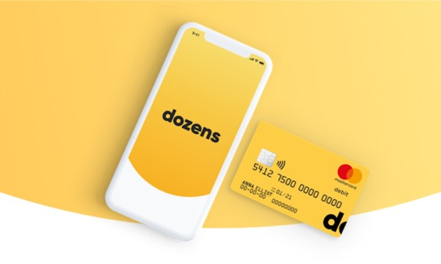 Dozens switches from MasterCard to Visa for its debit cards