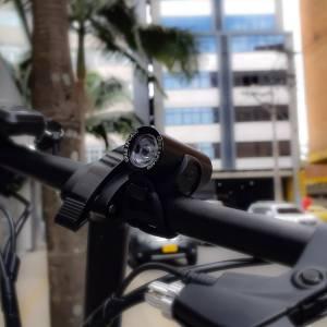linterna para bicicleta recargable usb