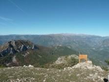 Altiplus, Club randonnée dans la 06, 29 octobre 2016 : le Gramondo; vue sur le mercantour cime de diable, bego