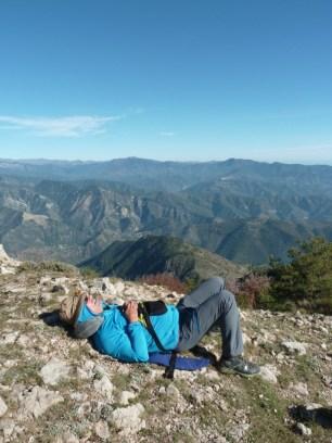 Altiplus, Club randonnée dans la 06, 29 octobre 2016 : le Gramondo; sieste