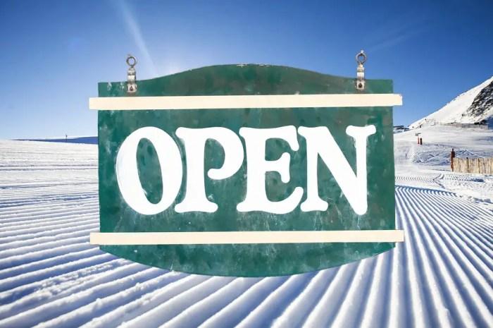 Les dates d'ouvertures des domaines skiables