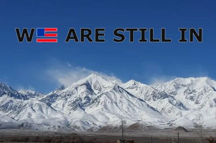 Les stations de ski américaines restent dans l' Accord de Paris