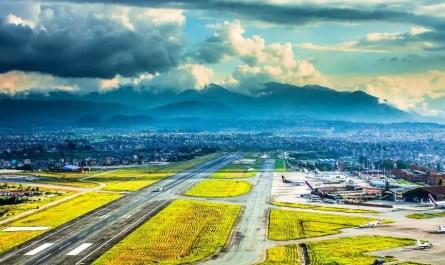 aéroport Katmandou Népal