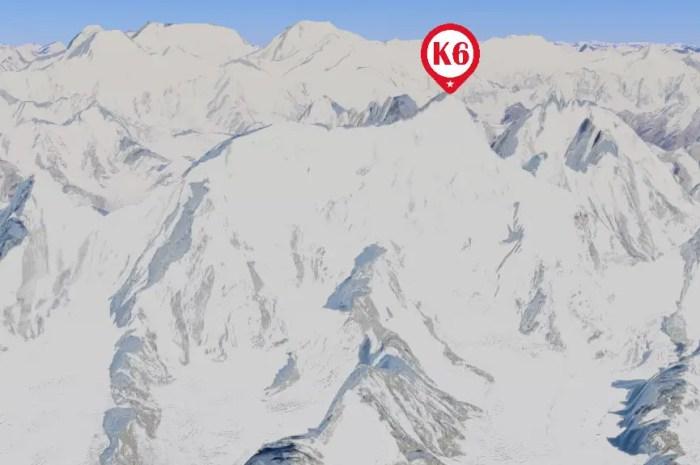 Un trio d'Américains au pied des 7.282 mètres du K6 !
