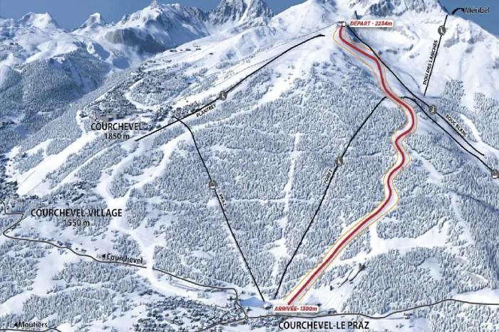 L'Eclipse, la piste phare des Mondiaux de ski 2023 est prête !