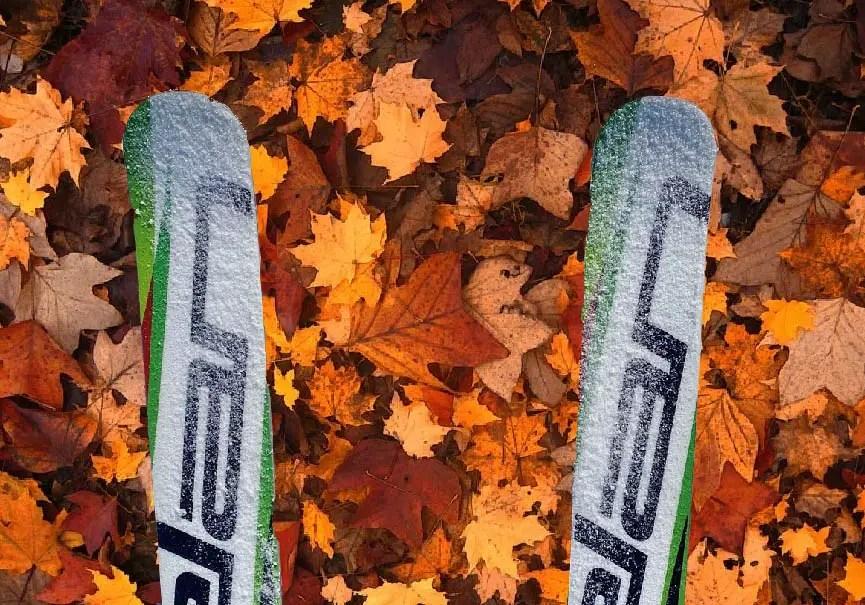 ski d'automne