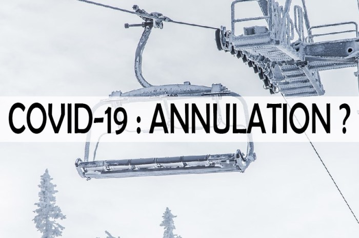 Covid-19 : pourrais-je annuler mes vacances au ski et me faire rembourser ?