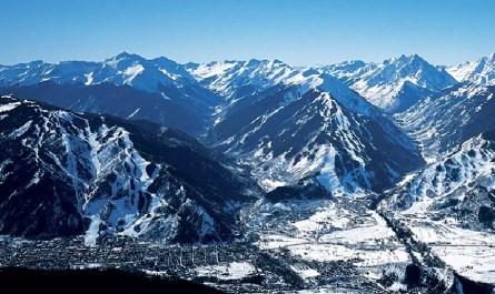 Vue sur Aspen Colorado