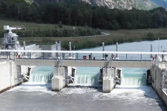 Le plus grand chantier hydroélectrique de France est terminé (Isère) !