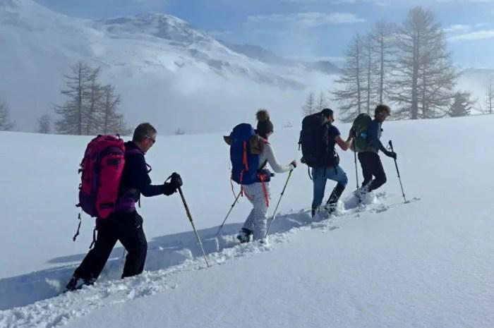 Un stage de survie dans la neige de la Vallée de la Clarée (Hautes-Alpes)