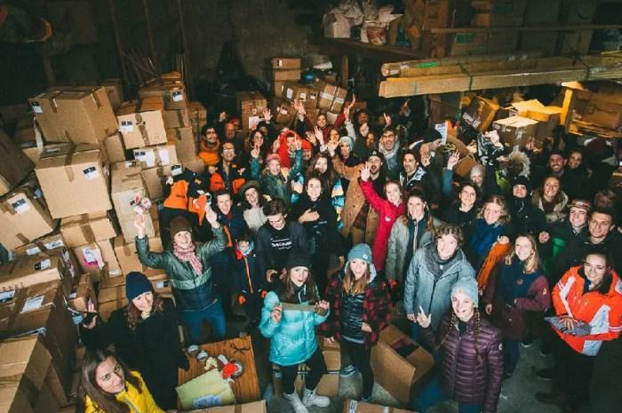 Riders for Refugees lance sa campagne 2020 de collecte de vêtements chauds