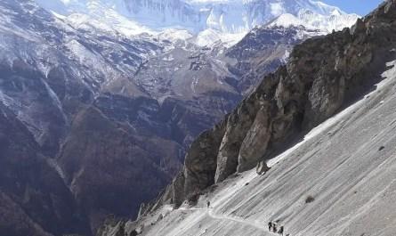 Tour des Annapurna, vers lac Tilicho