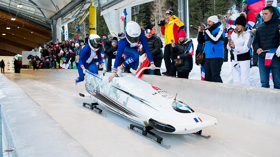 bobsleigh France Margot Carla