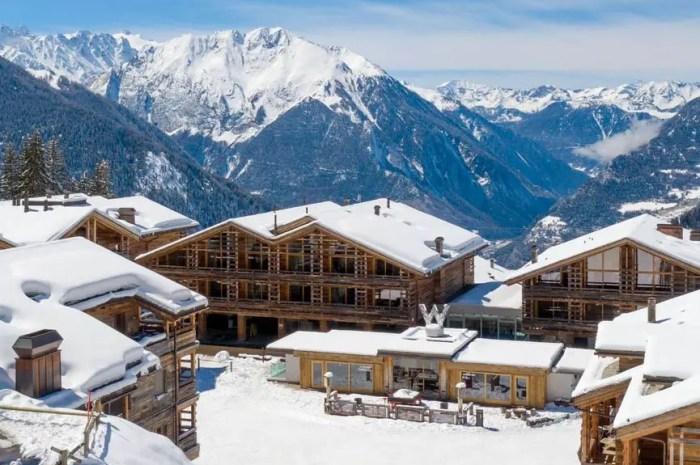 Les meilleurs hôtels du monde pour un séjour au ski !