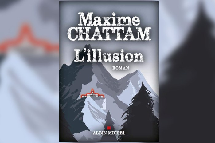 Maxime Chattam publie l'Illusion, un thriller de montagne !