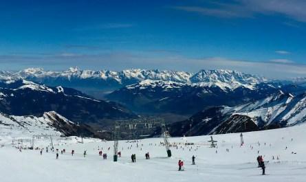 domaine skiable en Autriche