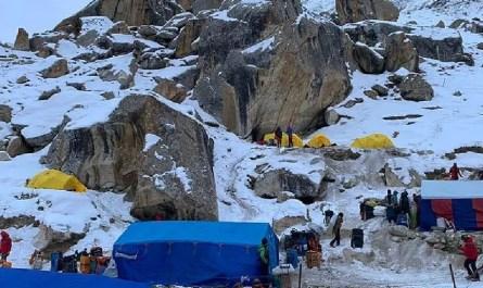 Urdukas camp