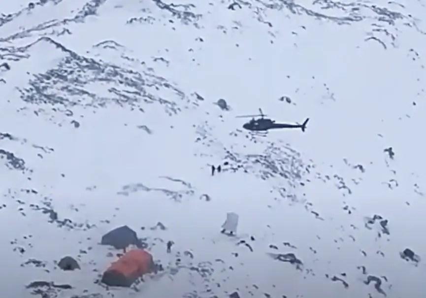 hélicoptère pakistan