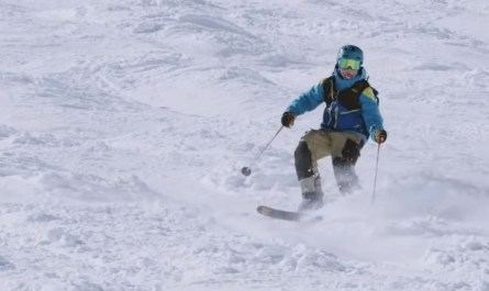 Skieur aveugle Jakob Smith
