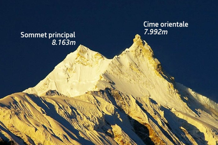 Le sommet oriental du Manaslu, 7.992m, pour Moro et Txikon !