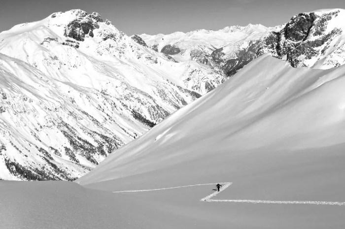 Cet hiver, j'apprends le ski de randonnée avec un guide de haute montagne !
