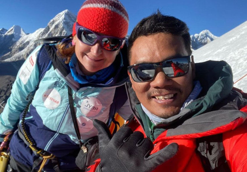 Sophie Lavaud Dawa Sangay Sherpa