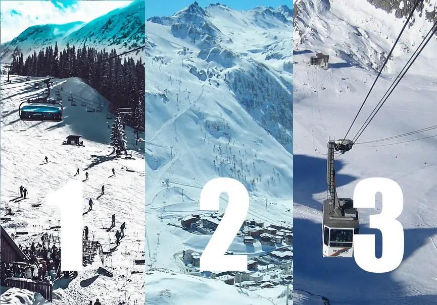 top des domaines skiables