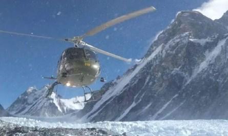hélicoptère Pastore Peak