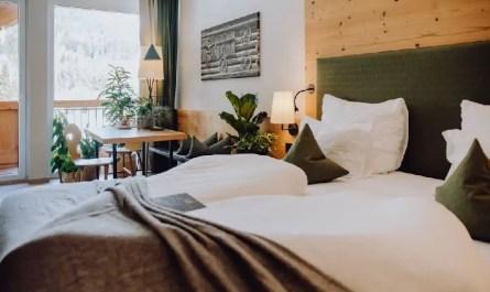 hôtel plantes vertes