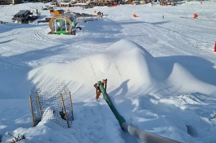 Les stations du Massif Central produiront de la neige même s'il ne fait pas assez froid