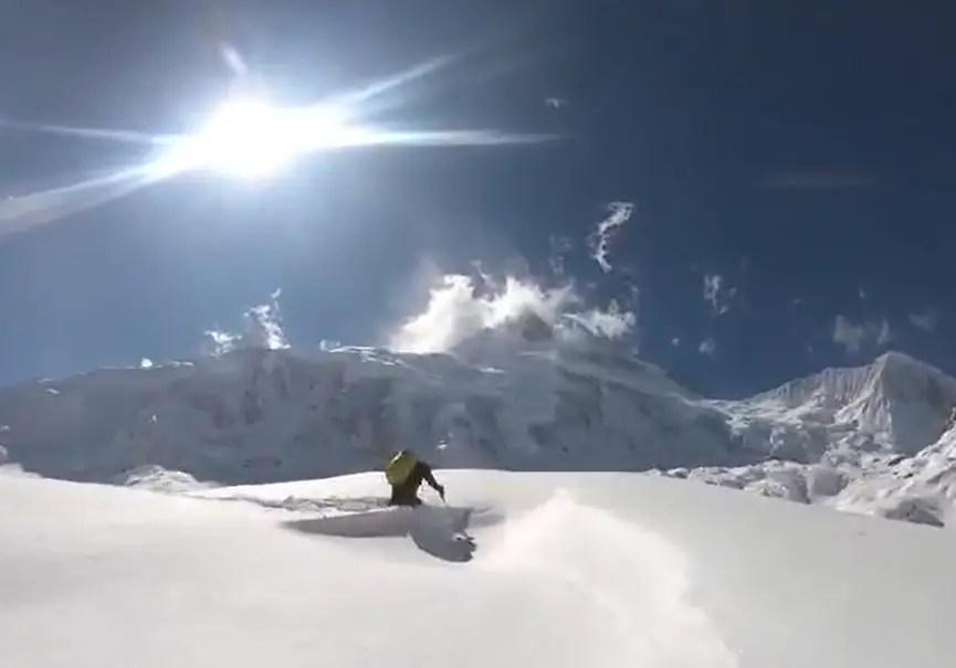 Manaslu neige
