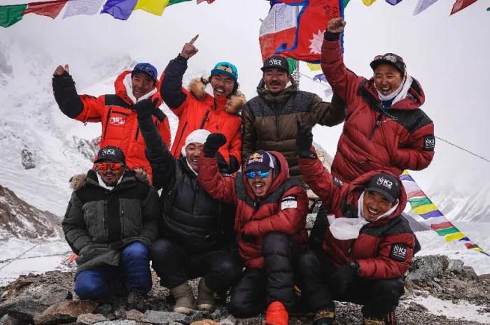 K2 en hiver : les Népalais sont partis et le vent souffle (très) fort au camp de base !