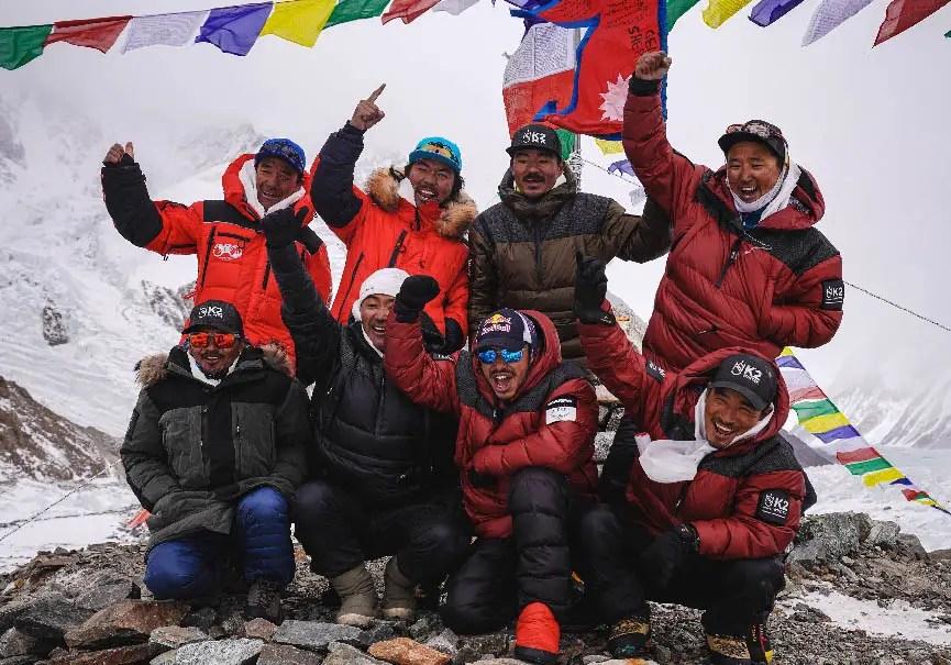 Népalais du K2