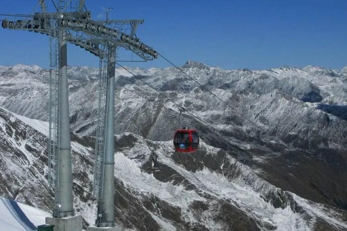 La télécabine la plus haute du monde approche les 5.000 mètres d'altitude