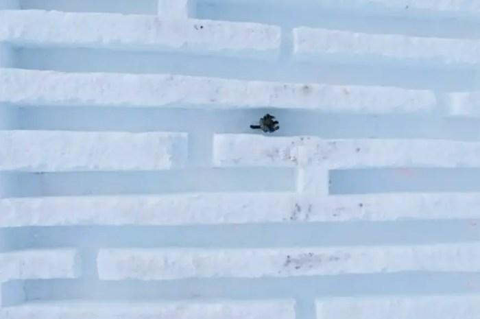 Activité hiver : se perdre dans un labyrinthe de neige !
