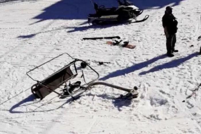 Accident : le télésiège se détache de son câble, 3 blessés graves !