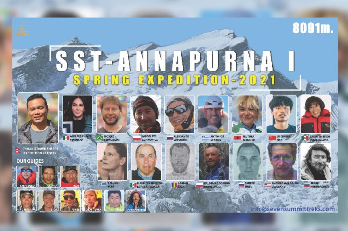 Deux alpinistes rescapés du K2 en route pour l'Annapurna !