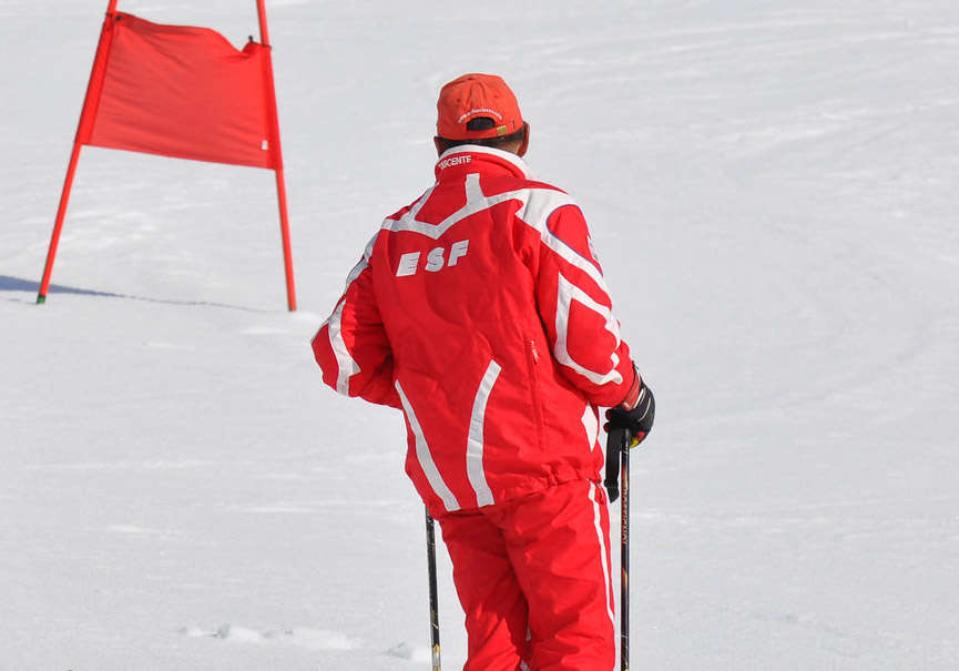 ESF moniteur ski