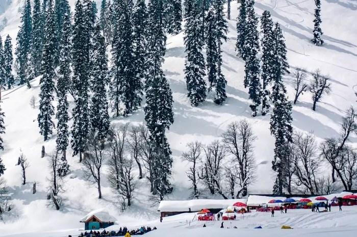 Afflux sur les pistes de cette station : 10 fois plus de skieurs que l'an dernier !