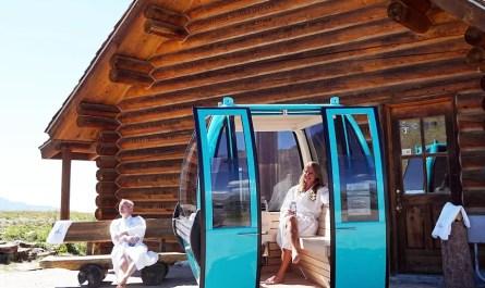 télécabine sauna