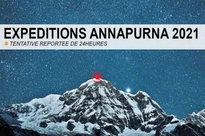 Annapurna : sommet reporté de 24h, hélicoptère appelé à l'aide !