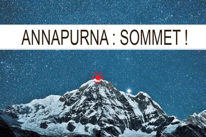 Premier 8.000 de la saison : une vingtaine de grimpeurs au sommet de l'Annapurna !