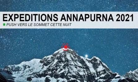 push Annapurna nuit