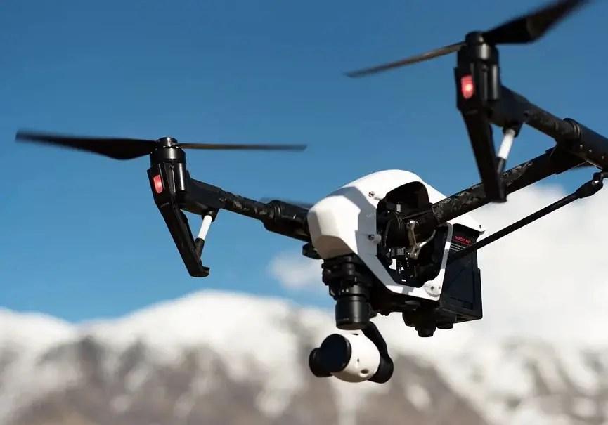 drone camp de base