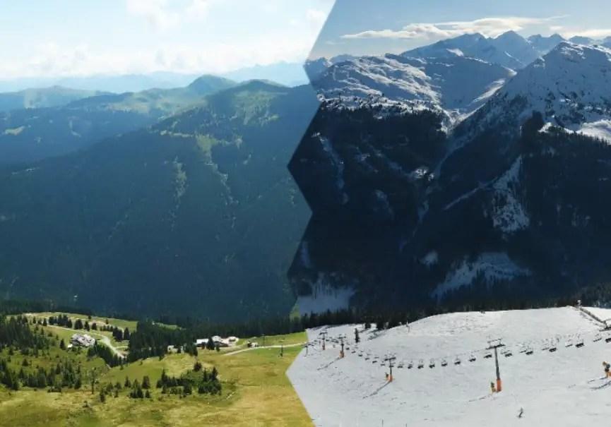 montagne 4 saisons