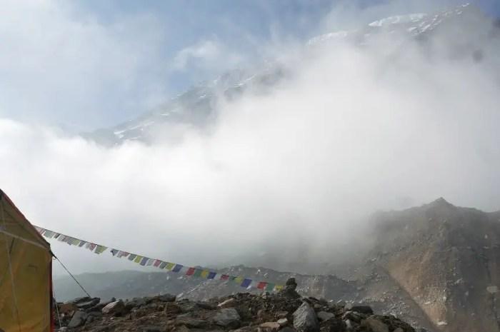 Ensevelis par une avalanche dans leur tente à 6.800m sur le Dhaulagiri !